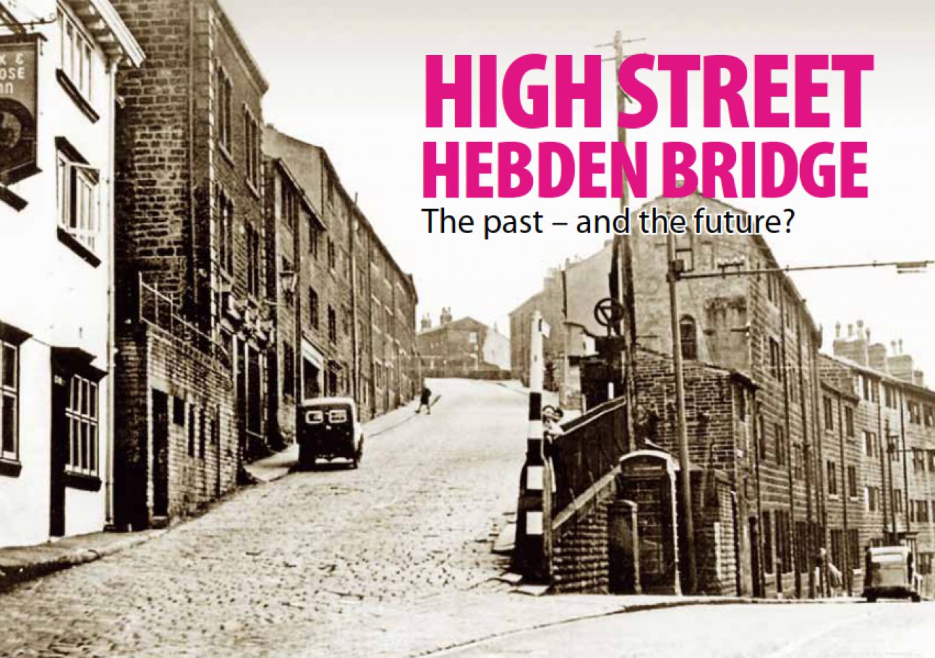 High Street of Hebden Bridge